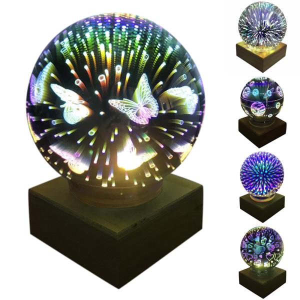 Glasöverdrag Magisk lampa Romantisk projektion Kreativa hemgåvor