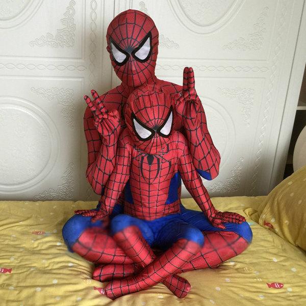 Halloween Cosplay Jumpsuit Superhero Costume Bodysuit For Kids As pics 130-140