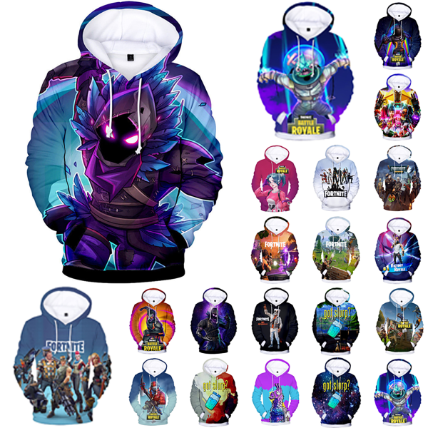 Fortnite Hoodie Youth 3D Printed Sports Hoodies Sweatshirt #11 #11 2XS