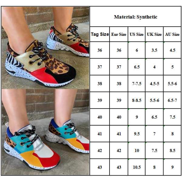 Ladies Color Matching Lace Shoes Casual Shoes Flat Shoes Blue 40