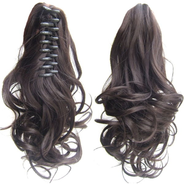 Ladies Natural Ponytails Claw Clip in Hair Extensions Hairpiece 2#