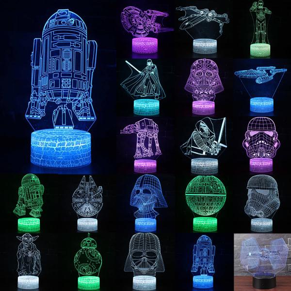 LED Creativity Night Light Planet Series 3D Lighting Kids Gift