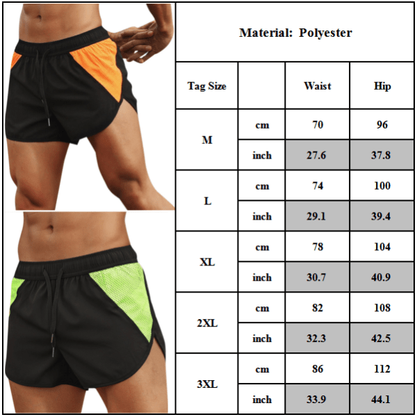 Men's Gym Sport Shorts Casual Running Workout Fitness Pants Camouflage M