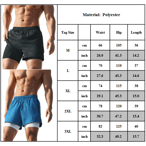 Mens Gym Sport Training Shorts Running Workout Short Pants Grey 3XL