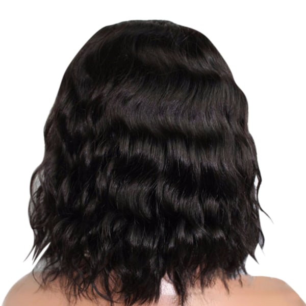 Mid-point Short Curly Hair Natural Shoulder-Length Women