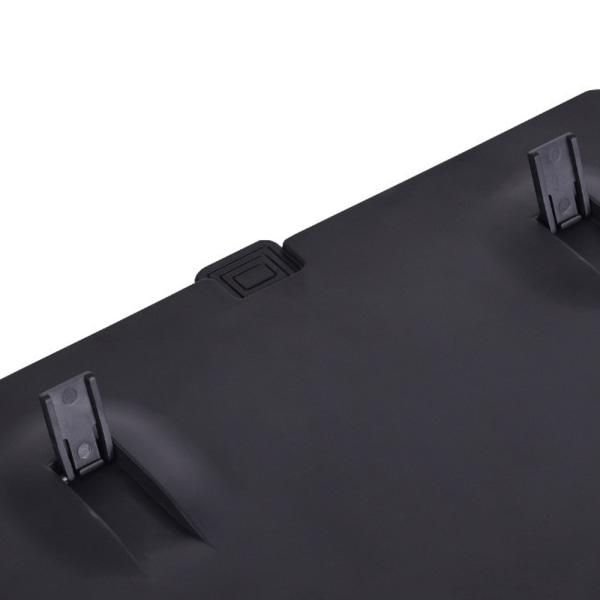 Skärmförstorare för mobiltelefon HD-skärmskyddbar stativ Black