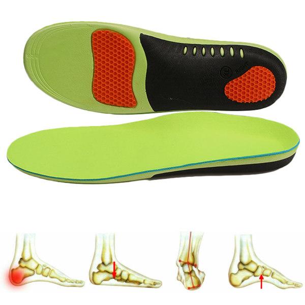 Ortotiska skoinsula med stöd för höga bågar 43-45