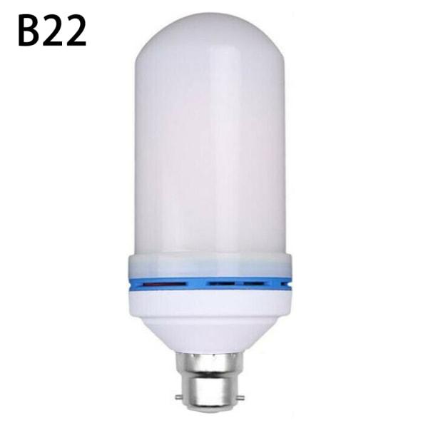 Party dekoration ljus Simulering Flame Lights romantisk lampa B22