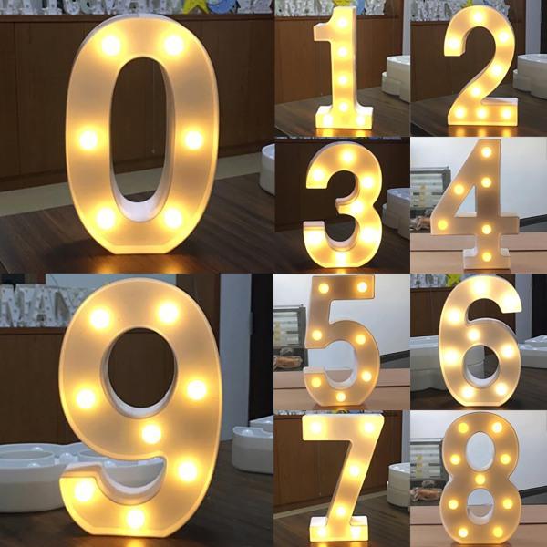 Party Digital modell LEN nattlampa heminredning lampa gåvor