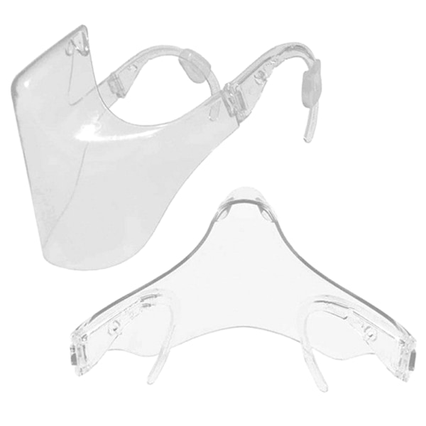 Transparent Protective Visors Mouth Nose Care Cover