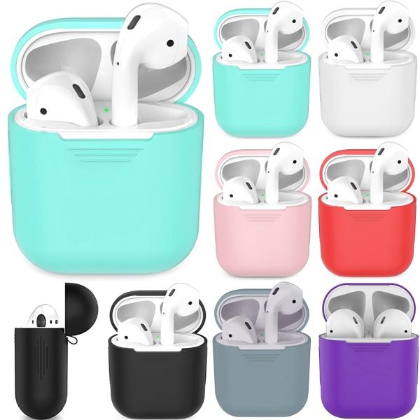 iphone hörlursfodral Airpods 1/2 generationskåpa dammtät White