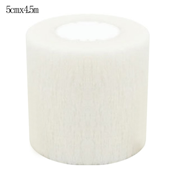 Self-Adhesive Bandage First Aid Elastic Wrap Cohesive Tapes White 5*450cm