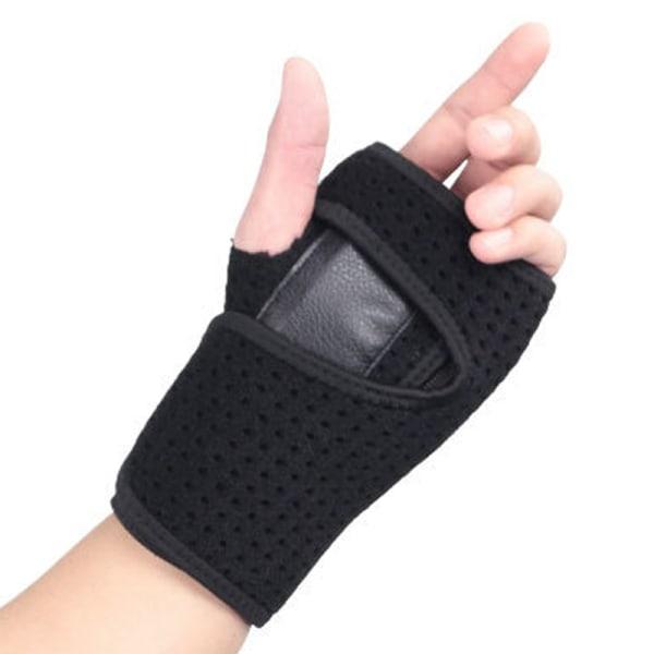 Sports Fitness Handledsrem Andningsbart bärbart handstöd Left hand