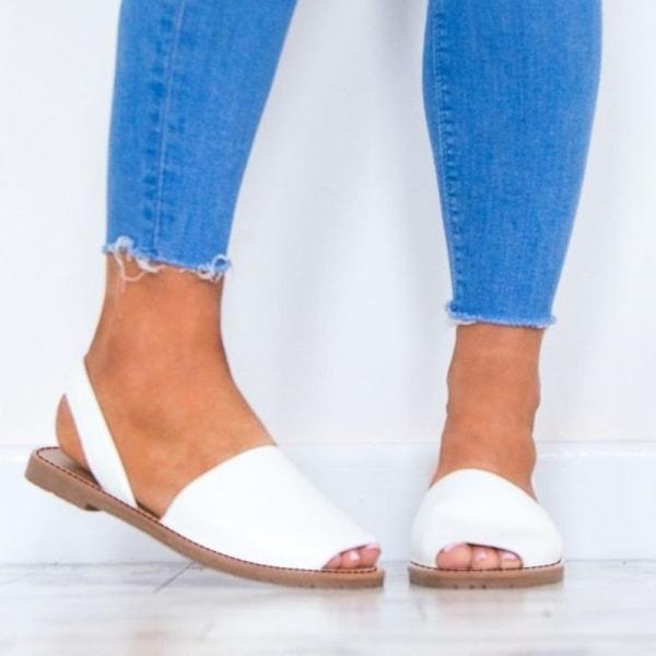 Sommar kvinnors tjejer romerska skor