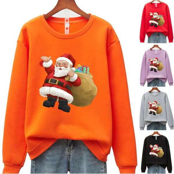 Unisex jul jultomten tröja tröja