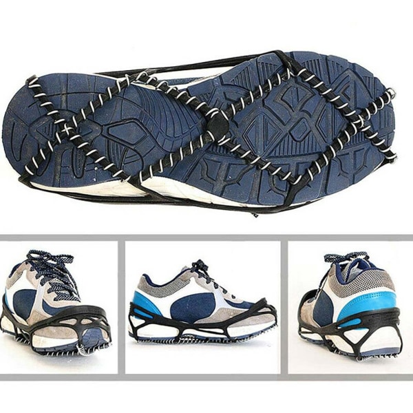 Unisex Non-slip Shoe Cover Outdoors Sports Practical Black 36-39 yards