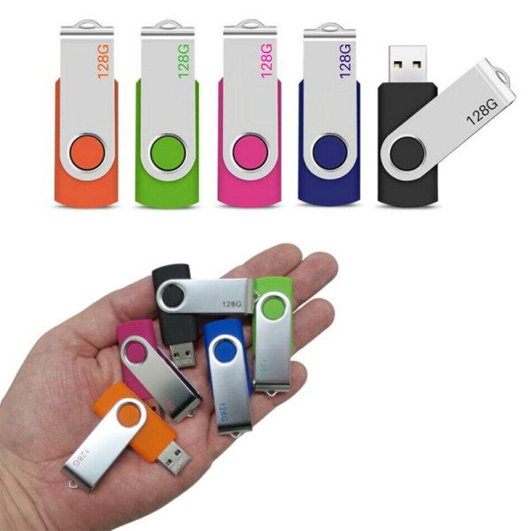 USB Flash Memory Drive 2.0 High Speed Stick Pen Thumb Green 64GB