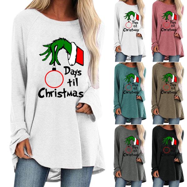 Kvinnodagar till julbrev Långärmad T-shirt Black 3XL