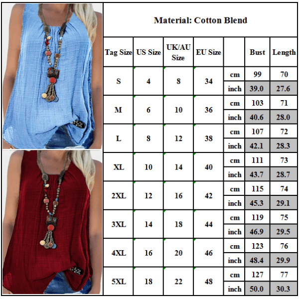 Women's Summer Solid Color Sleeveless Cotton and Linen Vest Green XL