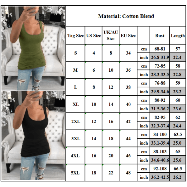 Women Solid Color Fashion Sports Vest Sleeveless Breathable Green L