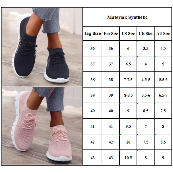 Womens Breathable Lace Up Trainers Sneakers Comfy Casual Shoes Beige 38