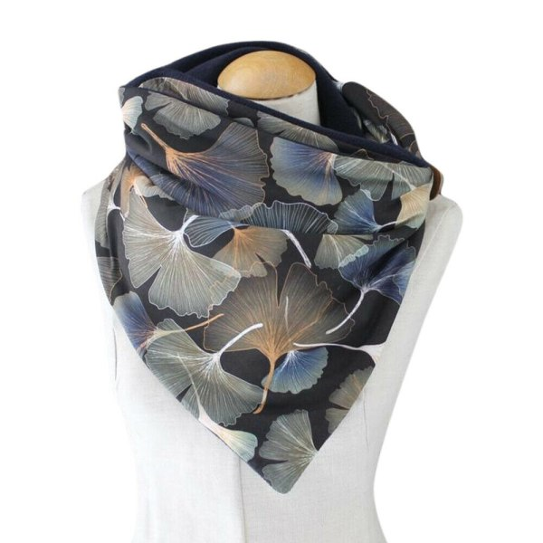 Kvinnors snygga halsduk Halsdukar Vinterkomfortabel avslappnad hals