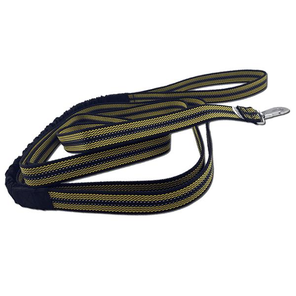 Baggen Expanderkoppel Reflex/Antiglid 3,5m Gul