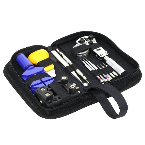 Premium klockreparationsverktygssats Byt batterijustering