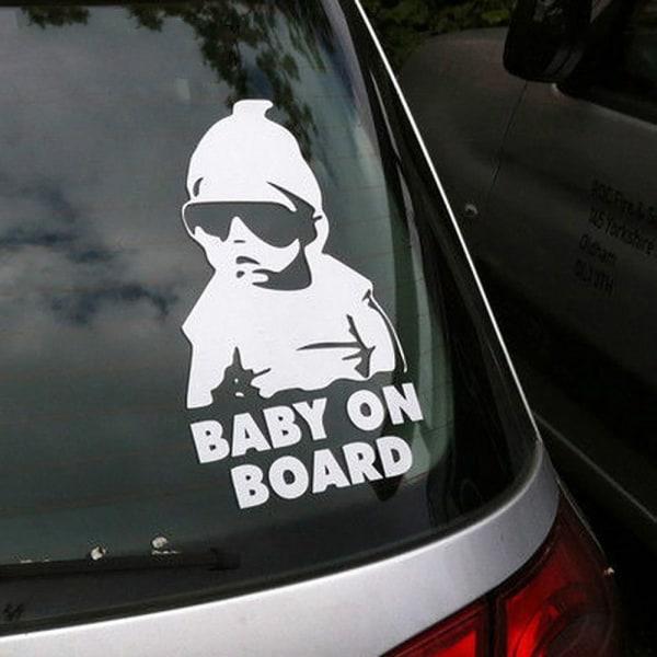 Baby on board (barn i bilen) dekal