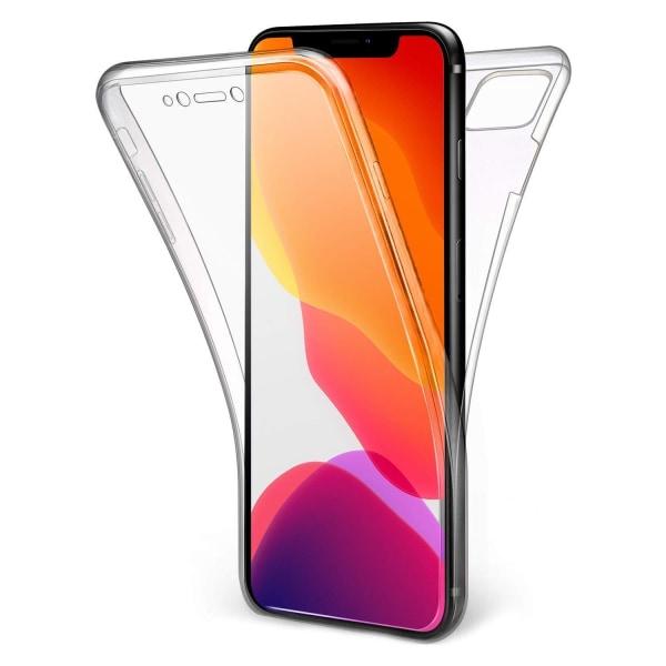 iPhone 11 Pro Max Dubbelsidigt silikonfodral med touchfunktion