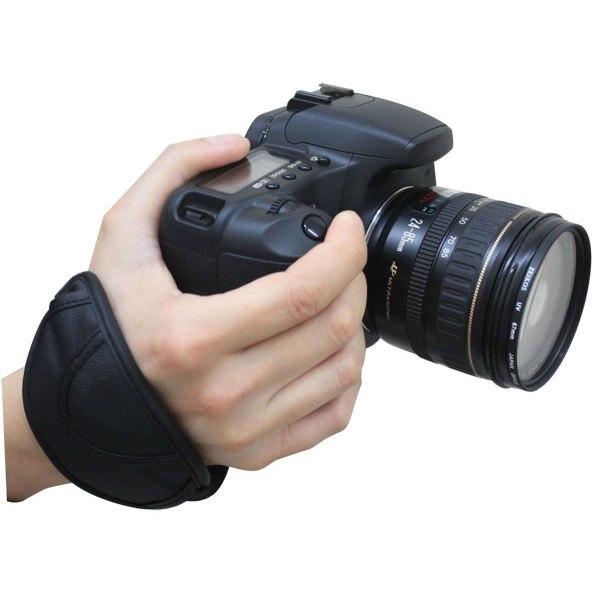 Mjukt Handrem / handledsfäste / handstap till kamera
