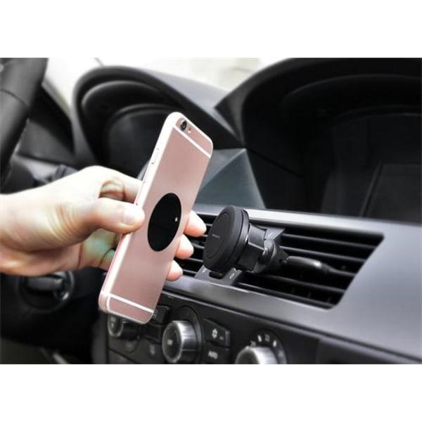 Bilhållare med magnet vinklingsbar för mobiltelefon