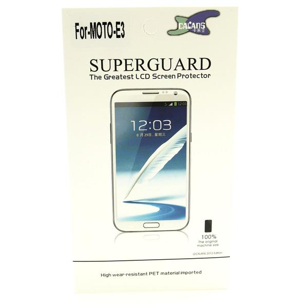 6-Pack Skärmskydd Lenovo Motorola Moto E3 / 3rd generation