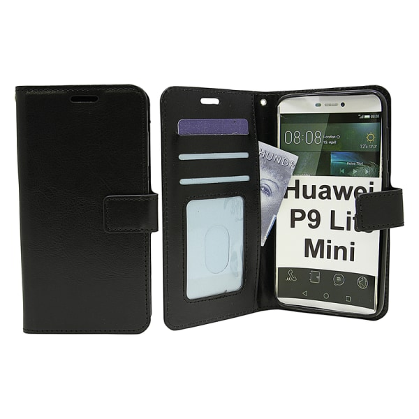 Crazy Horse Wallet Huawei P9 Lite Mini Turkos
