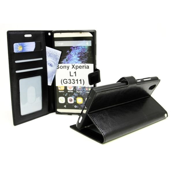 Crazy Horse Wallet Sony Xperia L1 (G3311) Röd