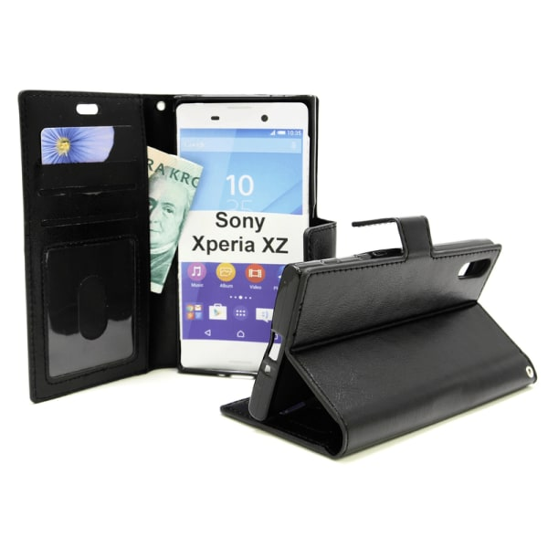 Crazy Horse Wallet Sony Xperia XZ / XZs  (F8331 / G8231) Vit