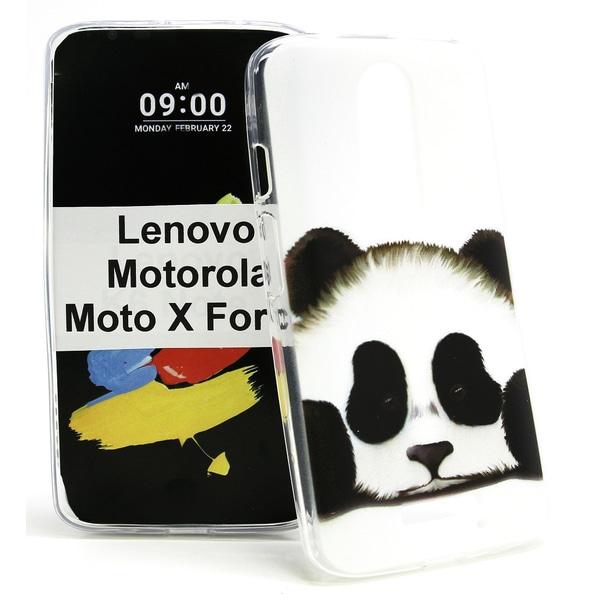 Designskal TPU  Lenovo Moto X Force