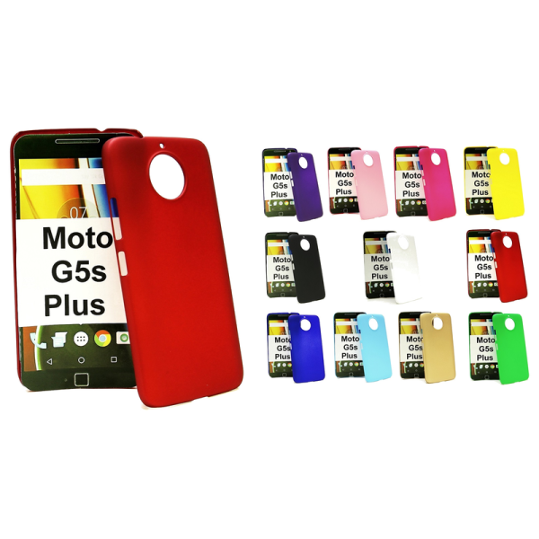 Hardcase Moto G5s Plus Röd