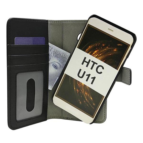 Magnet Wallet HTC U11 Hotpink