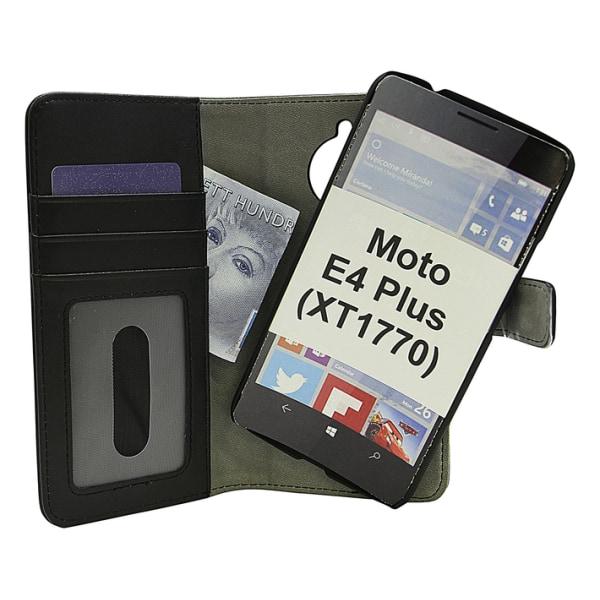 Magnet Wallet Moto E4 Plus (XT1770) Svart