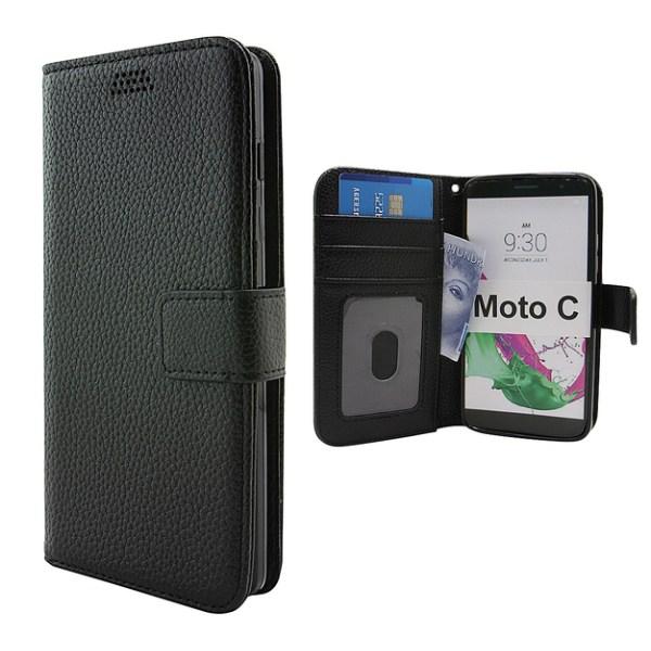 New Standcase Wallet Moto C (xt1754) Röd