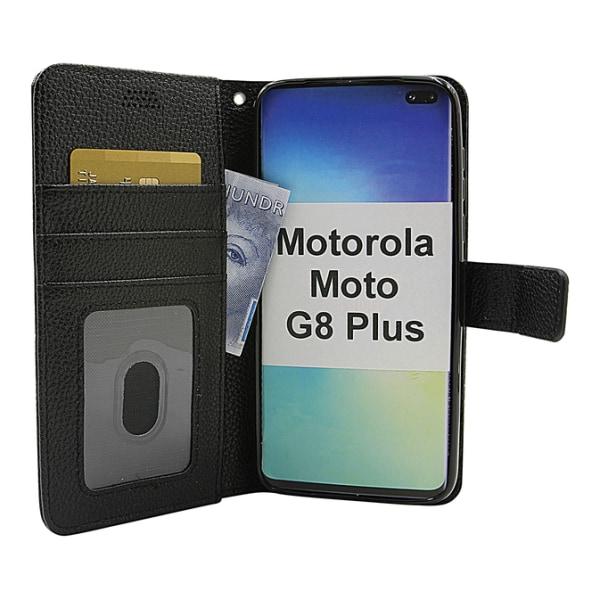 New Standcase Wallet Motorola Moto G8 Plus Hotpink