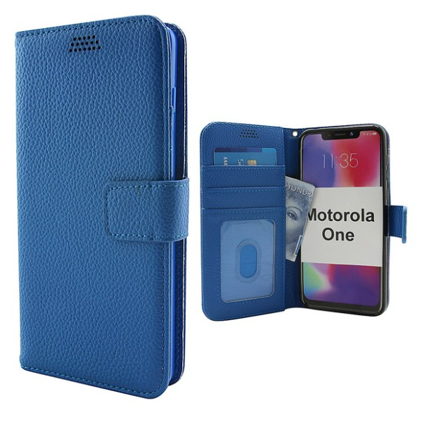New Standcase Wallet Motorola One Lila
