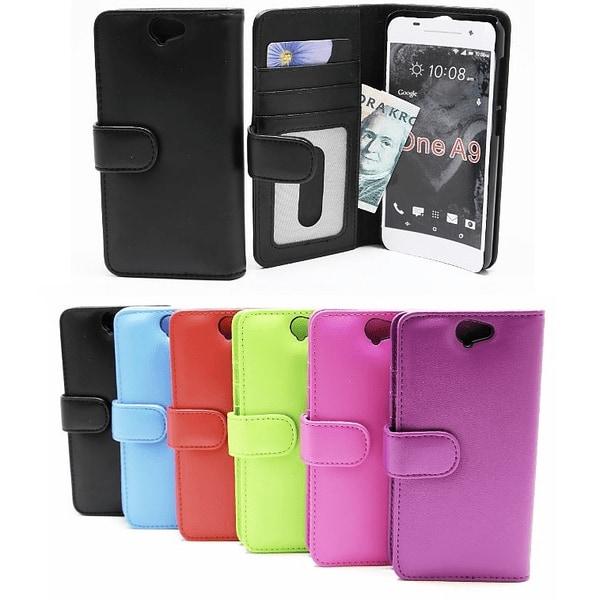 Plånboksfodral HTC One A9 Ljusblå