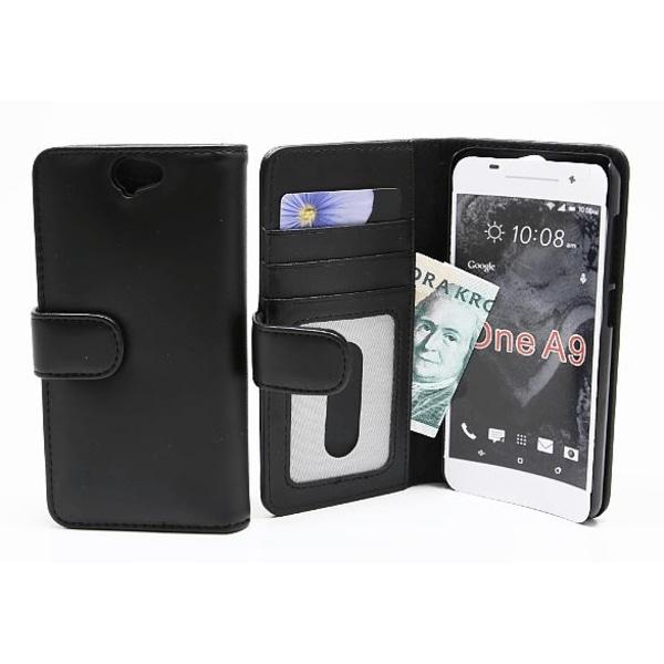 Plånboksfodral HTC One A9 Hotpink