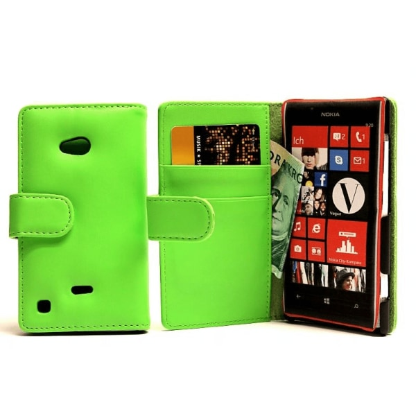 Plånboksfodral Nokia Lumia 720 Hotpink
