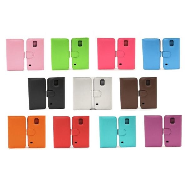 Plånboksfodral Samsung Galaxy S5 / S5 Neo (G900F / G903F) Ljusrosa