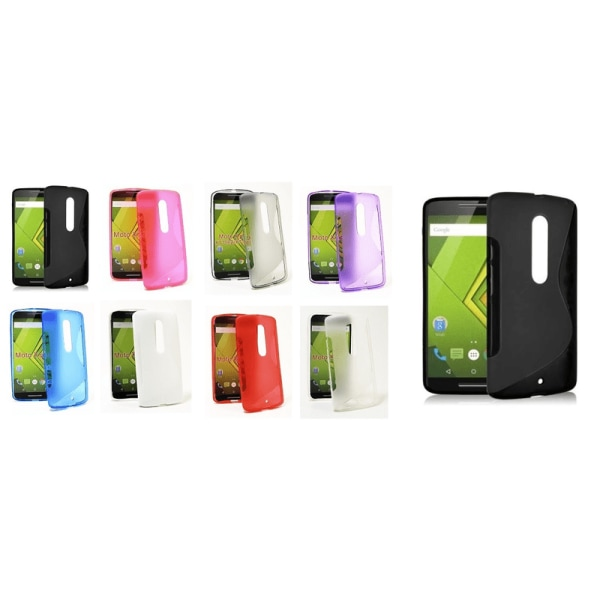 S-Line skal Motorola Moto X Play Clear