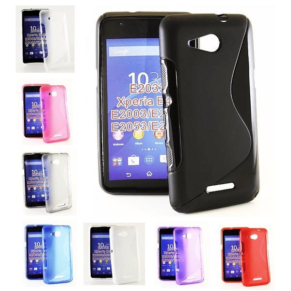 S-Line skal Sony Xperia E4g (E2003) Hotpink