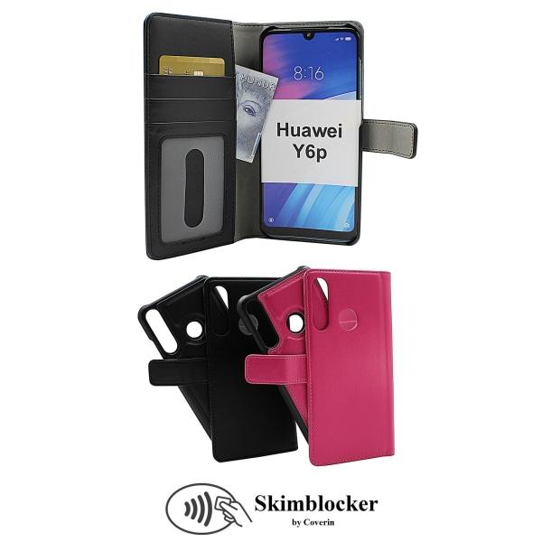 Skimblocker Magnet Fodral Huawei Y6p Svart